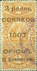 [Revenue Stamps Overprinted & Surcharged, Typ U4]