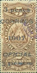 [Revenue Stamps Overprinted & Surcharged, Typ U5]