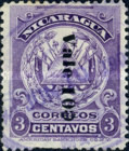 [Postage Stamp of 1905 Overprinted