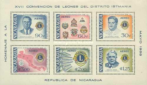 [Airmail - The 17th Convention of Lions International of Central America, Typ ]