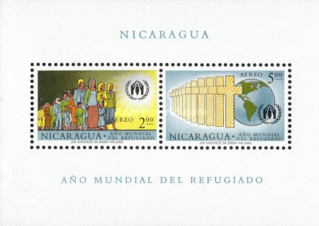 [Airmail - World Refugee Year, Typ ]