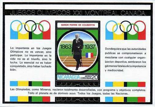 [Airmail - Olympic Games - Montreal, Canada, Typ ]