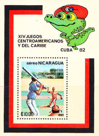 [Airmail - The 14th Central American and Caribbean Games, Typ ]