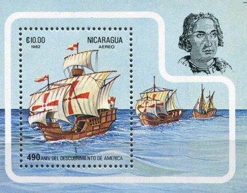 [Airmail - The 490th Anniversary of the Discovery of America, Typ ]