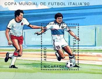 [Airmail - Football World Cup - Italy, Typ ]