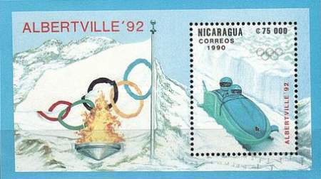 [Winter Olympic Games - Albertville, France 1992, Typ ]