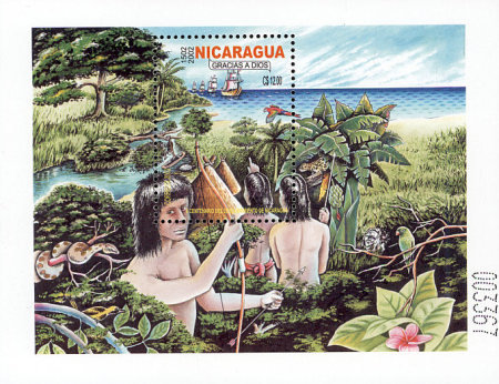 [The 500th Anniversary of the Discovery of Nicaragua, Typ ]