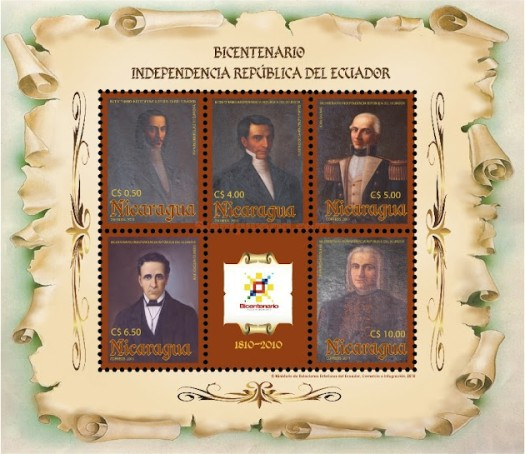 [The 200th Anniversary (2010) of Ecuadorian Independence, Typ ]