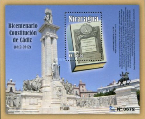 [The 200th Anniversary of the Cadiz Constitution, Typ ]