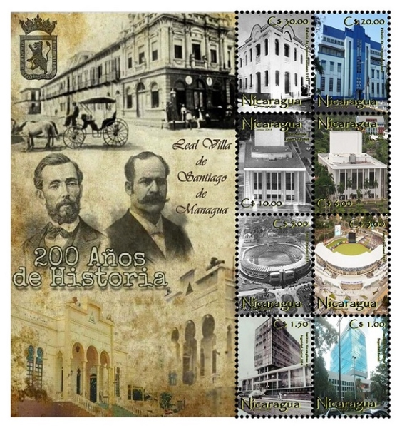 [The 200th Anniversary of the City of Managua, Typ ]