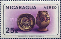 [Airmail - Nicaraguan Antiquities, Typ ABO]