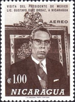 [Airmail - Visit of President of Mexico, type ADZ]