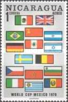 [Airmail - Football World Cup - Mexico, Typ AHD]
