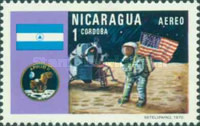 [Airmail - The 1st Manned Moon Landing with Apollo 11, Typ AHL]