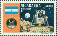 [Airmail - The 1st Manned Moon Landing with Apollo 11, Typ AHM]