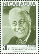 [Airmail - The 25th Anniversary of the Death of American President Franklin D. Roosevelt, 1882-1945, Typ AHP]