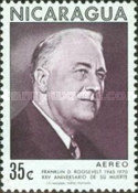 [Airmail - The 25th Anniversary of the Death of American President Franklin D. Roosevelt, 1882-1945, Typ AHQ]