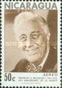 [Airmail - The 25th Anniversary of the Death of American President Franklin D. Roosevelt, 1882-1945, Typ AHR]