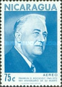 [Airmail - The 25th Anniversary of the Death of American President Franklin D. Roosevelt, 1882-1945, Typ AHS]
