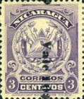 [Coat of Arms Stamps of 1905 Surcharged Downwards, Typ AJ22]