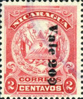 [Coat of Arms Stamps of 1905 Surcharged Downwards, Typ AJ25]