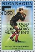 [Olympic Games - Munich, Germany - Issues of 1970 Overprinted