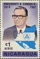 [Airmail - President Somoza's New Term of Office, Typ ASF2]