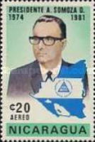 [Airmail - President Somoza's New Term of Office, Typ ASF4]