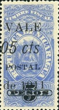 [Revenue Stamps Overprinted & Surcharged