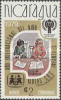 [Year of Liberation 1979 and Nicaragua's Participation in Olympic Games 1980 - International Year of the Child, type AZH2]