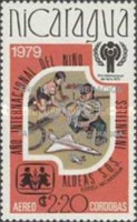 [Year of Liberation 1979 and Nicaragua's Participation in Olympic Games 1980 - International Year of the Child, type AZH3]