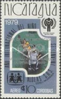 [Year of Liberation 1979 and Nicaragua's Participation in Olympic Games 1980 - International Year of the Child, type AZH4]
