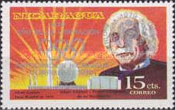 [Year of Liberation 1979 and Nicaragua's Participation in Olympic Games 1980 - The 100th Anniversary of the Birth of Albert Einstein, 1879-1955, type AZJ2]