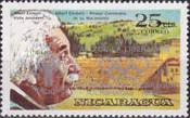 [Year of Liberation 1979 and Nicaragua's Participation in Olympic Games 1980 - The 100th Anniversary of the Birth of Albert Einstein, 1879-1955, type AZJ4]