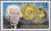 [Year of Liberation 1979 and Nicaragua's Participation in Olympic Games 1980 - The 100th Anniversary of the Birth of Albert Einstein, 1879-1955, type AZJ5]
