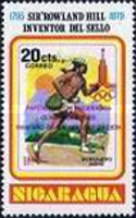 [Literacy Campaign, Nicaragua's Participation in Olympic Games 1980, Unissued Stamps The 100th Anniversary of the Death of Rowland Hill, 1795-1879 Overprinted
