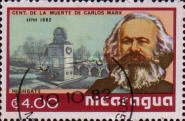 [Airmail - The 100th Anniversary of the Death of Karl Marx, 1818-1883, Typ BEQ]