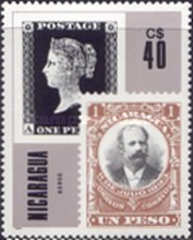 [Airmail - The 125th Anniversary of Nicaraguaian Stamps, Typ BSU]
