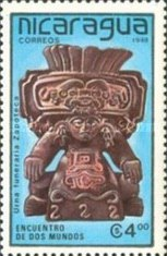 [The 500th Anniversary of the Discovery of America - Pre-Columbian Art Objects, Typ CBQ]