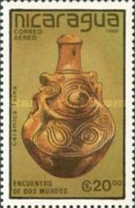 [Airmail - The 500th Anniversary of the Discovery of America - Pre-Columbian Art Objects, Typ CBT]