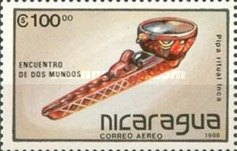 [Airmail - The 500th Anniversary of the Discovery of America - Pre-Columbian Art Objects, Typ CBV]