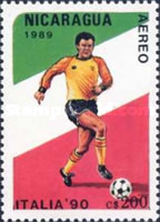 [Airmail - Football World Cup - Italy, Typ CCI]
