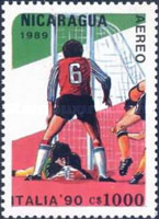 [Airmail - Football World Cup - Italy, Typ CCK]