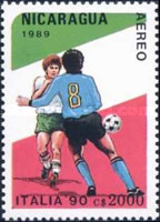 [Airmail - Football World Cup - Italy, Typ CCL]
