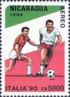 [Airmail - Football World Cup - Italy, Typ CCN]
