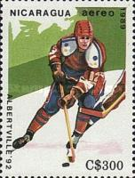 [Airmail - Winter Olympic Games - Albertville, France 1992, Typ CCZ]