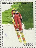 [Airmail - Winter Olympic Games - Albertville, France 1992, Typ CDA]