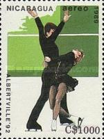 [Airmail - Winter Olympic Games - Albertville, France 1992, Typ CDB]