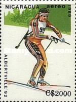 [Airmail - Winter Olympic Games - Albertville, France 1992, Typ CDC]