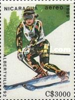 [Airmail - Winter Olympic Games - Albertville, France 1992, Typ CDD]